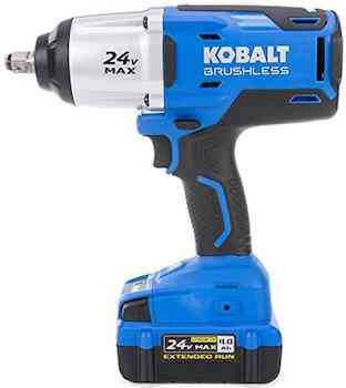 Kobalt 24-Volt Max-Volt 1/2-in Drive Cordless Impact Wrench