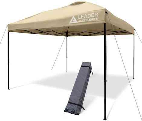 Leader Accessories 10' x 10' Pop Up Canopy Tent