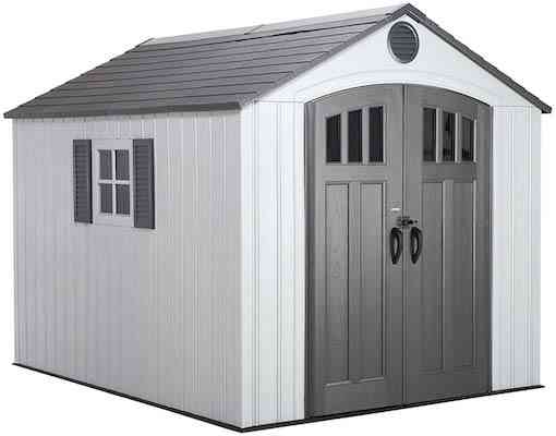 Lifetime 60202 8 x 10 Ft. Outdoor Storage Shed