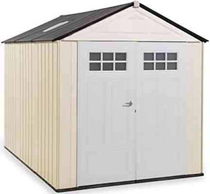 Rubbermaid Big Max Ultra Storage Shed, 7-foot by 10-foot