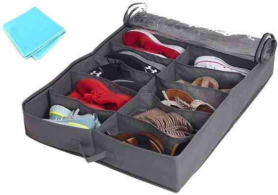 Set of 2 Under Bed Shoe Storage