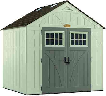 Suncast 8' x 7' Tremont Storage Shed with Windows