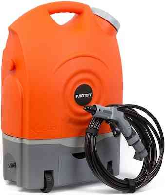 Ivation Multipurpose Portable Cordless Spray Washer w:Water Tank