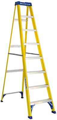 Louisville Ladder FS2008 Step Ladder, 8-Feet:250lb