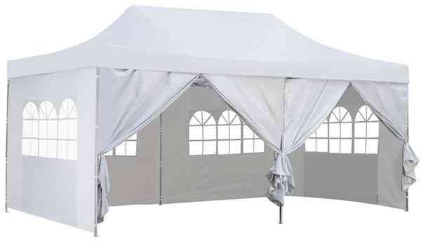 Outdoor Basic 10x20 Ft Pop up Canopy Party Tent with sides