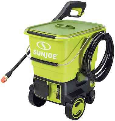 Sun Joe SPX6001C-XR iON 40V 5.0-Amp 1160 PSI Max Cordless Pressure Washer, Green