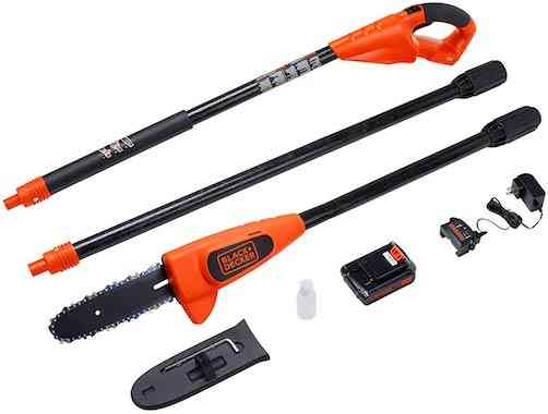 BLACK+DECKER 20V MAX Pole Saw, 8-Inch (LPP120)