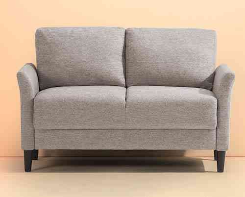 Zinus Jackie Classic Upholstered 53.5 Inch Sofa Couch Loveseat