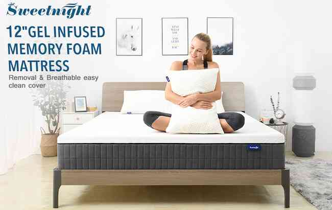 Sweetnight 12 inch Queen Mattress Review
