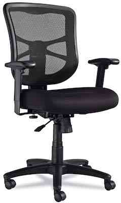 Alera Elusion Series Mesh Mid-Back Swivel-Tilt Chair