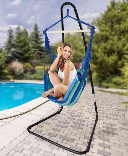 Sorbus Hammock Chair Stand for Hanging Chairs