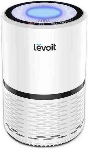 LEVOIT Air Purifier with H13 True HEPA Air Purifiers Filter for Home Allergies and Pets, Smokers, Smoke