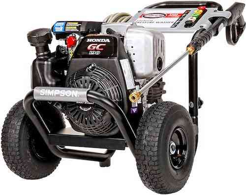 Simpson Cleaning MSH3125 MegaShot Gas Pressure Washer Powered