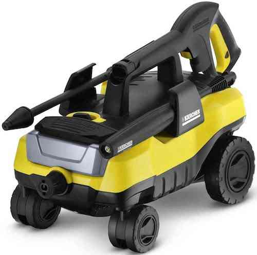 Karcher K3 Follow-Me Electric Power Pressure Washer with 4 Rolling Wheels