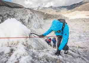 Ice climbing safety